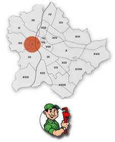 Gázszerelés - I. kerület,  Várkerület – Gellérthegy , Krisztinaváros , Tabán , Vár (Budapest), Víziváros