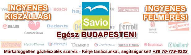savio gázkészülékek javítása, szervíze, karbantartása, cseréje