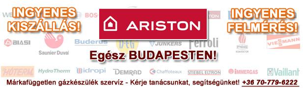ariston gázkészülékek javítása, szervíze, karbantartása, cseréje