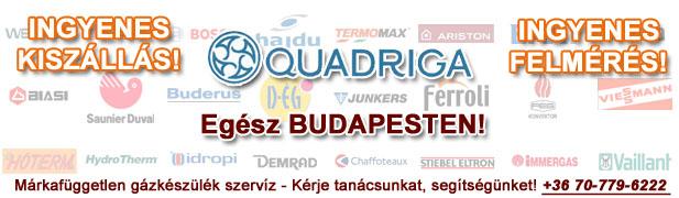 quadriga gázkészülékek javítása, szervíze, karbantartása, cseréje