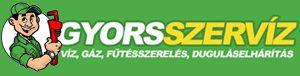 GyorsSZERVÍZ Budapest – Víz, Gáz, Fűtésszerelés, duguláselhárítás 0-24